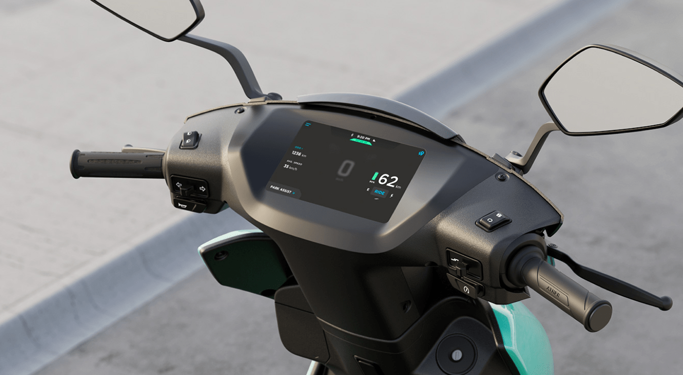 Ather 450x is an intelligent Electric scooter